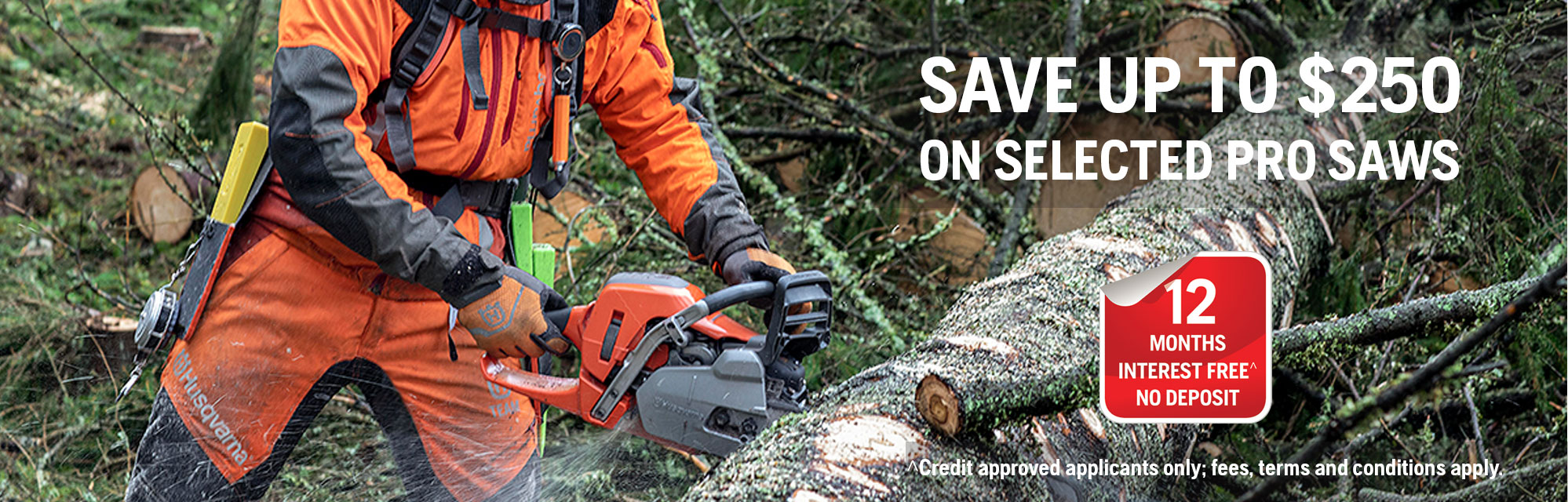 Chainsaws - SAVE UP TO $250
